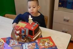 3 urodziny Pawełka