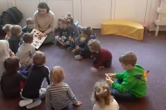 Gość w przedszkolu - odwiedziny mamy Łukaszka